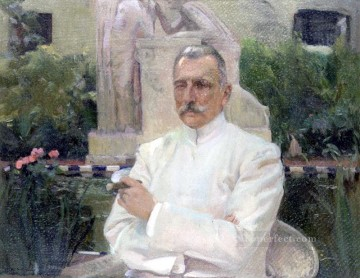 Retrato de D Amalio Gimeno painter Joaquin Sorolla Oil Paintings