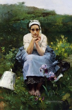 Maid Works - The Milkmaid painter Joaquin Sorolla