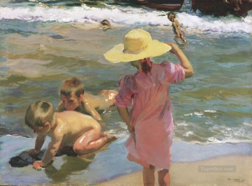 The Young Amphibians Joaquin Sorolla رسام