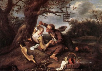Jan Steen Painting - Merry Couple Dutch genre painter Jan Steen