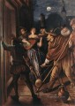 Nocturnal Serenade Dutch genre painter Jan Steen