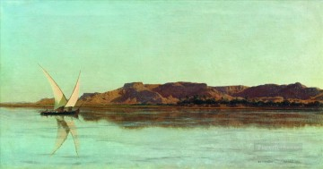 rome Painting - The Nile Stephan Bakalowicz Ancient Rome