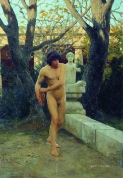 rome Painting - Discobolus Stephan Bakalowicz Ancient Rome