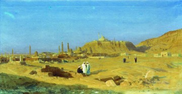 Artworks by 350 Famous Artists Painting - Evening in Cairo Stephan Bakalowicz Ancient Rome