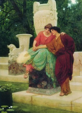 rome Painting - Roman Ladies Stephan Bakalowicz Ancient Rome