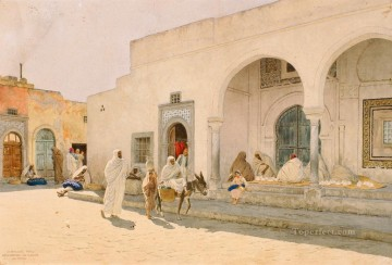 Gamia Karamanli Suk el Mushir Stephan Bakalowicz Oil Paintings