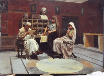 in workshop Stephan Bakalowicz Ancient Rome Oil Paintings