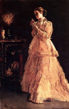 Belgian Art - lady Belgian painter Alfred Stevens