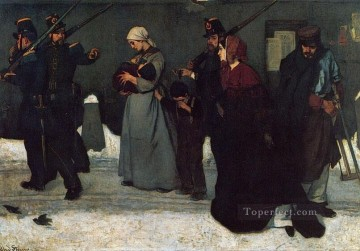Alfred Canvas - What is Called Vagrancy lady Belgian painter Alfred Stevens