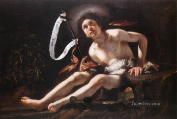 St John The baptist Italian Baroque Bernardo Strozzi Oil Paintings