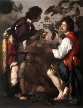 Joseph Telling His Dreams Italian Baroque Bernardo Strozzi Oil Paintings
