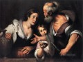Prophet Elijah And The Widow Of Sarepta Italian Baroque Bernardo Strozzi