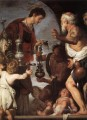 The Charity Of St Lawrence 1639 Italian Baroque Bernardo Strozzi