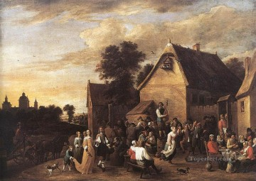 David Teniers the Younger Painting - Flemish Kermess 1652 David Teniers the Younger