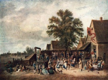 The Village Feast David Teniers the Younger Oil Paintings