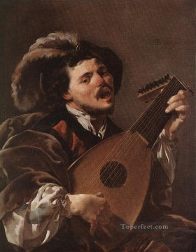 Lute Art - Lute Player Dutch painter Hendrick ter Brugghen