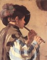 The Flute Player Dutch painter Hendrick ter Brugghen