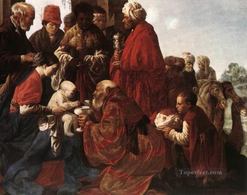 Adoration Art - The Adoration Of The Magi Dutch painter Hendrick ter Brugghen
