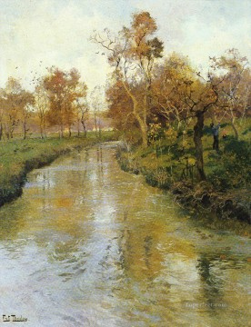 AUTUMN Norwegian Frits Thaulow Oil Paintings