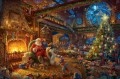Santa Workshop Thomas Kinkade
