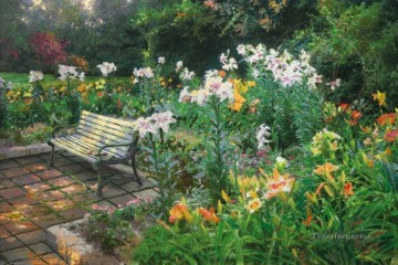 Eternal Springtime Thomas Kinkade Oil Paintings