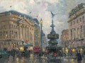 Piccadilly Circus London Thomas Kinkade