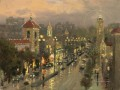 Plaza Lights Kansas City Thomas Kinkade