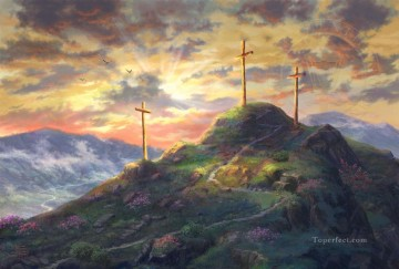 thomas kinkade Painting - Remember Me Thomas Kinkade
