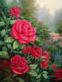 A Perfect Red Rose Thomas Kinkade