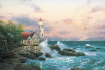 Beacon Of Hope Thomas Kinkade Oil Paintings