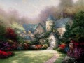 Beyond Autumn Gate Thomas Kinkade