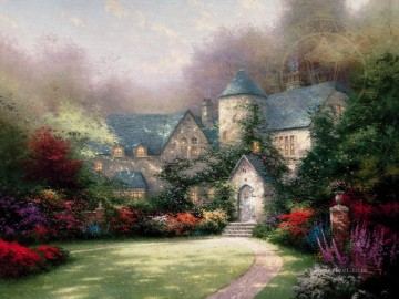 Beyond Autumn Gate Thomas Kinkade Oil Paintings