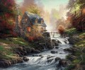 Cobblestone Mill Thomas Kinkade