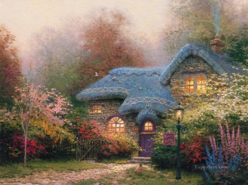Heather Hutch Thomas Kinkade Oil Paintings