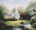 Hometown Chapel Thomas Kinkade
