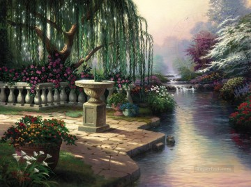 Hour Painting - Hour of Prayer Thomas Kinkade
