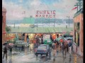 Pike Place Market Thomas Kinkade