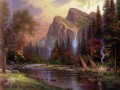 The Mountains Declare His Glory Thomas Kinkade