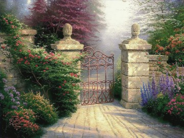 The Open Gate Thomas Kinkade Oil Paintings