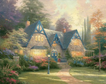 Winsor Manor Thomas Kinkade Oil Paintings