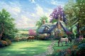 A Perfect Summer Day Thomas Kinkade