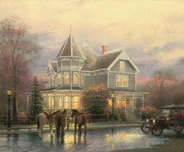 Christmas Memories Thomas Kinkade Oil Paintings