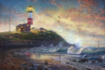 Thomas Kinkade Painting - Light of Hope Thomas Kinkade
