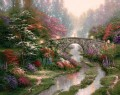 Stillwater Bridge Thomas Kinkade
