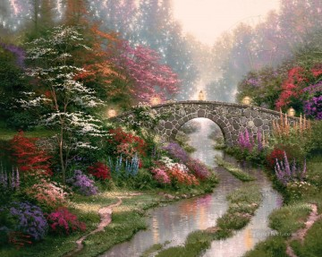 still Art - Stillwater Bridge Thomas Kinkade
