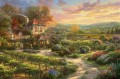 Wine Country Living Thomas Kinkade