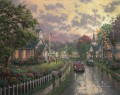 Morning Pledge Thomas Kinkade