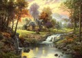 Mountain Retreat Thomas Kinkade