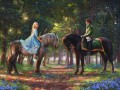 Romance Awakens Thomas Kinkade