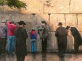 The Wailing Wall Jerusalem Thomas Kinkade